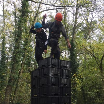 Crate Stacking at LSAC - The Leslie Sell Activity Centre